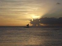Hanalei Canoe Sunset